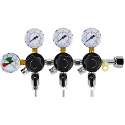 Trojni CO2 regulator